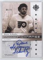 Dave Schultz /25