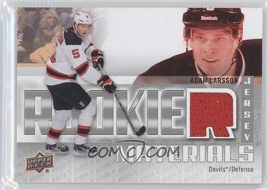 2011-12 Upper Deck - Rookie Materials #RM-AL - Adam Larsson
