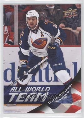 2011-12 Upper Deck All-World Team #AW10 - Dustin Byfuglien