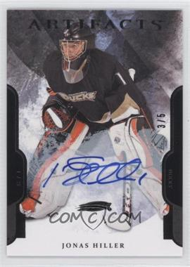 2011-12 Upper Deck Artifacts Black #24 - Jonas Hiller /5
