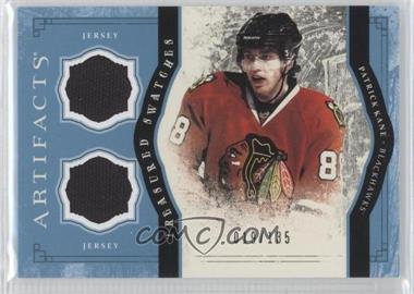 2011-12 Upper Deck Artifacts Treasured Swatches Dual Blue #TS-PK - Patrick Kane /135