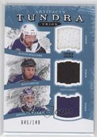 Jonathan Bernier, Justin Williams, Ryan Smyth /149