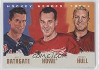 Anton Babchuk, Gordie Howe, Bobby Hull