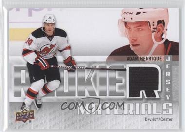 2011-12 Upper Deck Rookie Materials #RM-AH - Adam Henrique