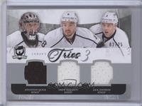 Jonathan Quick, Drew Doughty, Jack Johnson /25