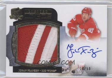 2011-12 Upper Deck The Cup Limited Logos Autographs #LL-JF - Johan Franzen /50