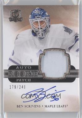 2011-12 Upper Deck The Cup #160 - Ben Scrivens /249