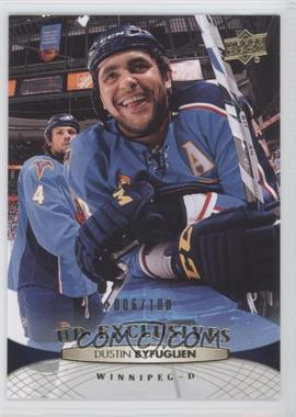 2011-12 Upper Deck UD Exclusives #1 - Dustin Byfuglien /100