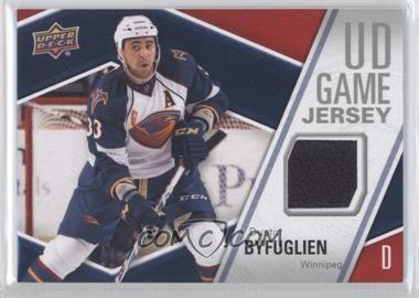 2011-12 Upper Deck UD Game Jersey #GJ-BY - Dustin Byfuglien