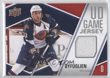2011-12 Upper Deck UD Game Jersey #GJ-BY - Dustin Byfuglien