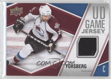 2011-12 Upper Deck UD Game Jersey #GJ-PF - Peter Forsberg