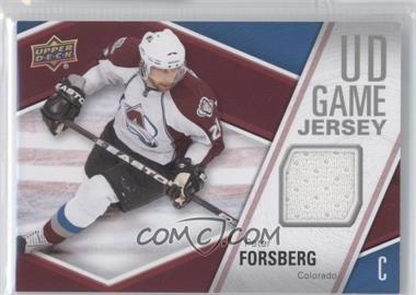 2011-12 Upper Deck UD Game Jersey #PF - Peter Forsberg