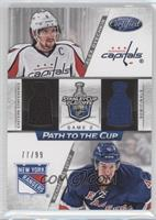 Michael Del Zotto, Alex Ovechkin /99