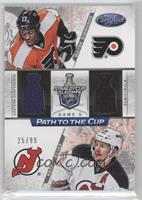 Wayne Simmonds, Patrik Elias /99