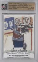Roy Breaks Sawchuk's Mark /40