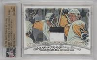 Lemieux Scores Five Different Ways (Mario Lemieux) /40 [ENCASED]