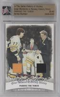 Passing the Torch (Ray Bourque) /40 [ENCASED]