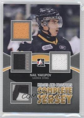 2012-13 In the Game Heroes and Prospects Complete Jersey Silver #CJ-07 - Nail Yakupov /9