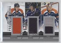 Brenden Ranford, Tim Bozon, Cole Cheveldave /40