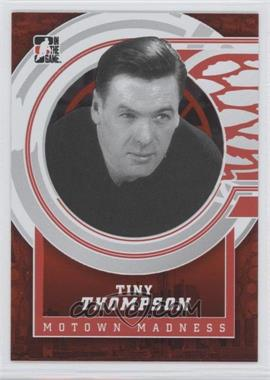 2012-13 In the Game Motown Madness - [Base] - Red #136 - Tiny Thompson