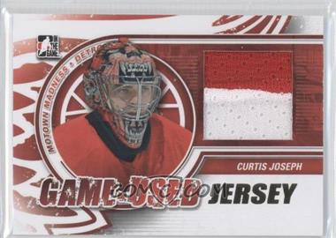 2012-13 In the Game Motown Madness - Game-Used - Jersey Gold #M-18 - Curtis Joseph /10