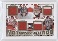 Jimmy Howard, Dominik Hasek, Mike Vernon, Curtis Joseph