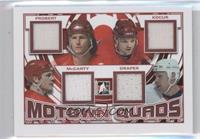 Bob Probert, Joe Kocur, Darren McCarty, Kris Draper /65