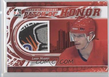 2012-13 In the Game Motown Madness Patch of Honor #PH-07 - Larry Murphy