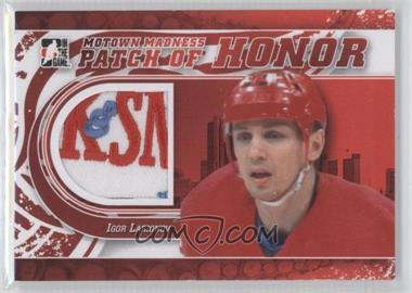 2012-13 In the Game Motown Madness Patch of Honor #PH-31 - Igor Larionov