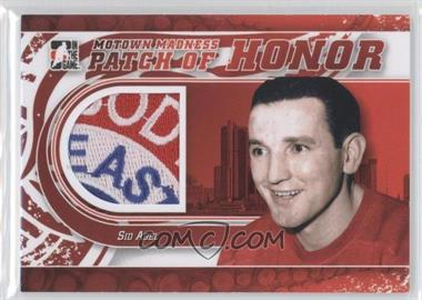 2012-13 In the Game Motown Madness Patch of Honor #PH-33 - Sid Abel
