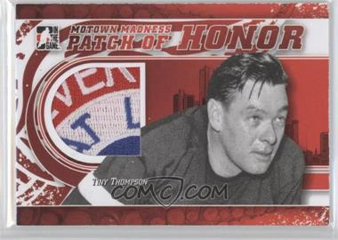 2012-13 In the Game Motown Madness Patch of Honor #PH-40 - Tiny Thompson