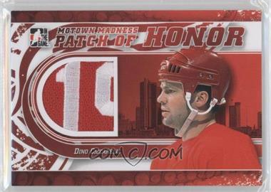 2012-13 In the Game Motown Madness Patch of Honor #PH-42 - Dino Ciccarelli