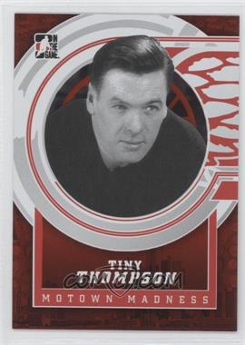 2012-13 In the Game Motown Madness Red #136 - Tiny Thompson