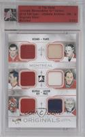 Maurice Richard, Jacques Plante, Jean Beliveau, Guy Lafleur, Patrick Roy, Carey…