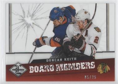 2012-13 Limited Board Members Die-Cut #BM-9 - Duncan Keith /25