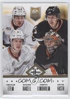 Anaheim Ducks (Emerson Etem, Hampus Lindholm, Rickard Rakell, Viktor Fasth) /499
