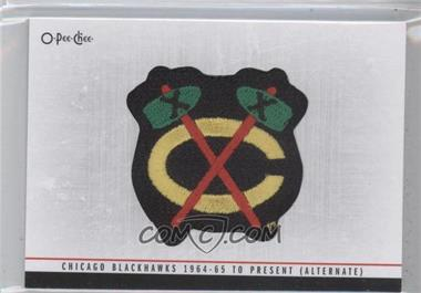 2012-13 O-Pee-Chee Team Logo Manufactured Patch #TL-45 - Chicago Blackhawks (Black Hawks) Team