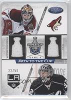 Jonathan Quick, Mike Smith /50