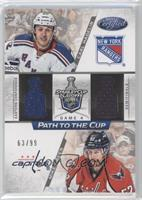 Carl Hagelin, Mike Green /99