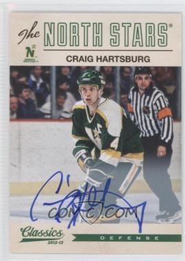 2012-13 Panini Classics Signatures Autographs [Autographed] #125 - Craig Hartsburg