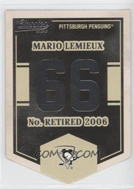 2012-13 Panini Classics Signatures Banner Numbers #EN9 - Mario Lemieux