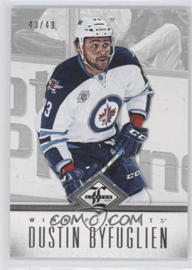2012-13 Panini Limited - [Base] - Silver #126 - Dustin Byfuglien /49