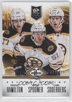 Boston Bruins (Dougie Hamilton, Ryan Spooner, Carl Soderberg) /499