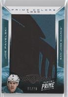 Joe Pavelski /20