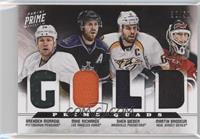 Brenden Morrow, Martin Brodeur, Shea Weber, Mike Richards /50