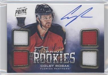 2012-13 Panini Prime #124 - Colby Robak /249