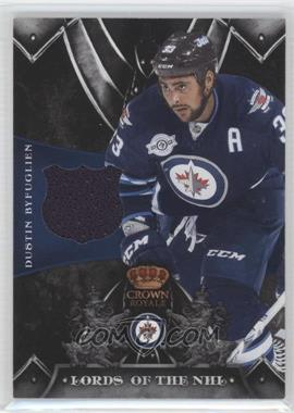 2012-13 Panini Rookie Anthology Crown Royale Lords of the NHL #LN-DY - Dustin Byfuglien