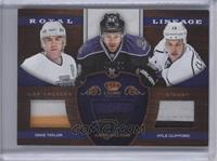Dave Taylor, Justin Williams, Kyle Clifford /50