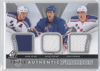 Marc Staal, Derek Stepan, Chris Kreider
