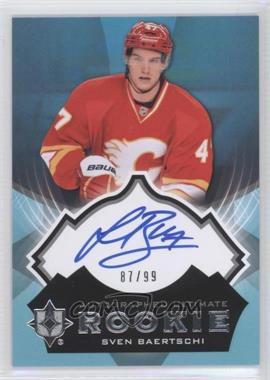 2012-13 Ultimate Collection #29 - Sven Baertschi /99